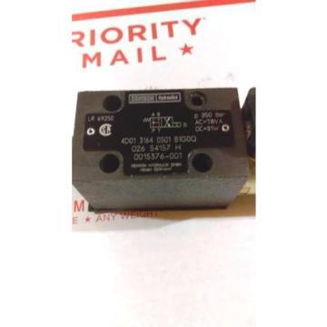 DENISON 4D01 3164 0501 B1G0Q DIRECTIONAL CONTROL VALVE 026-54157-H