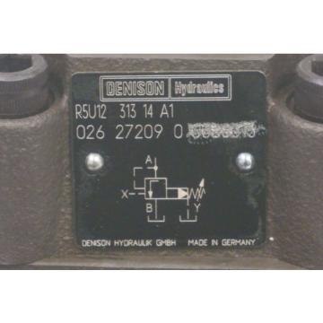 Origin DENISON R5U12-313-14-A1 HYDRAULIC FLOW CONTROL VALVE 026-27209-0