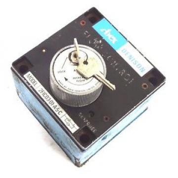 Origin ABEX DENISON 2FIC03-01-A-5-C VARIABLE FLOW CONTROL VALVE