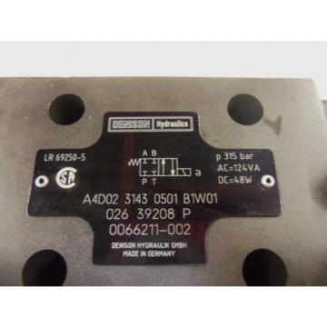 DENISON A4D02-3143-0501-B1W01 VALVE USED