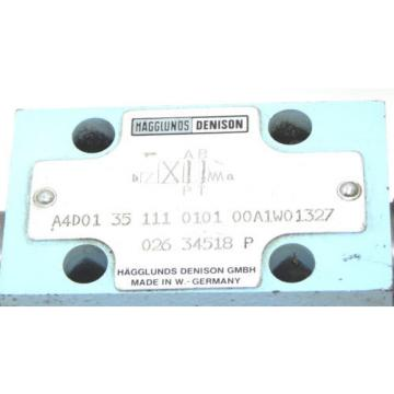 MAGGLUNDS DENISON A4D01 35 111 0101 00A1W01327 CHECK VALVE Q26 34518 P