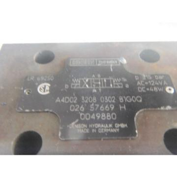 Denison A4D0232080302B1G00 Hydraulic Directional Valve
