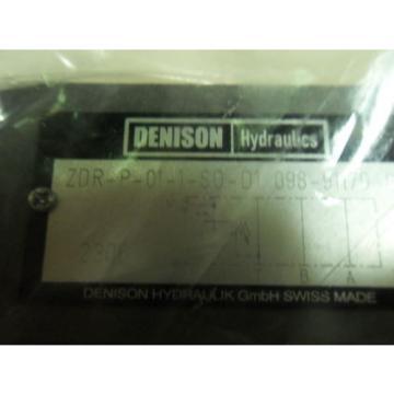 1 origin Denison Parker Zdrp011Sod1 Pressure Reducing Valve N3-3