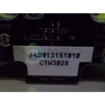 DENISON A4D013151010 HYDRAULIC VALVE Origin NO BOX