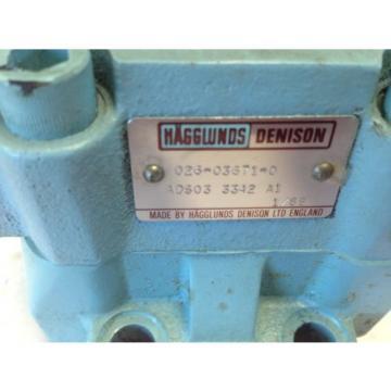 Origin HAGGLUNDS/DENISON 026-03671-0 ,ADS03-3342-A1, HYDRAULIC VALVE MODULE DH