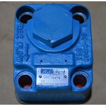 ABEX DENISON CV12 531 S5 3/4#034; inch Hydraulic check valve  016 16476 Origin