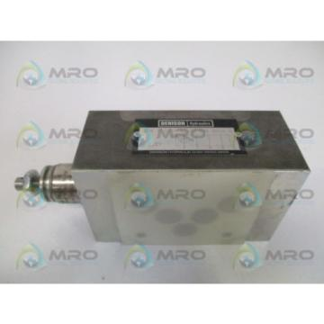DENISON ZDR-P-02-1-S0-D1 HYDRUALIC FLOW CONTROL VALVE Origin NO BOX