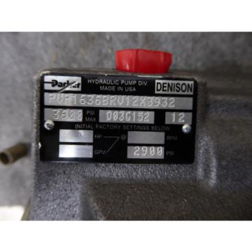 Origin PARKER DENISON PISTON PUMP PVP1636BRV12X3932