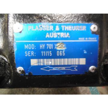 Origin PARKER DENISON HYDRAULIC VANE PUMP # HY701X22L PLASSER amp; THEURER