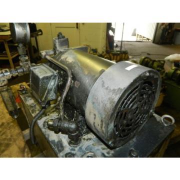 Nachi 2 HP 15kW Hydraulic Unit w/ Tank, VDS-0B-1A3-U-10, Used, WARRANTY