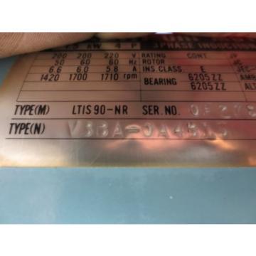 NACHI HYDRAULIC OIL MOTOR LTIS90-NR VBBA-0A4B15 PUMP USV-0A-A3-15-4-12 VDS-OB-