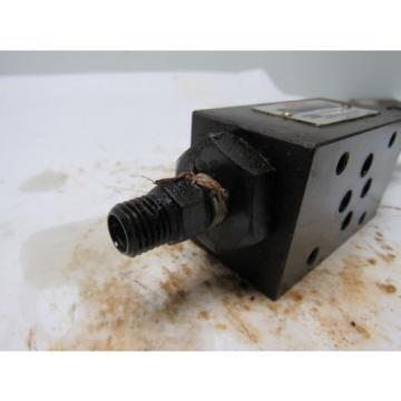 Nachi 0G-G01-PC-K-5749A Hydraulic Pressure Reducing Modular Valve