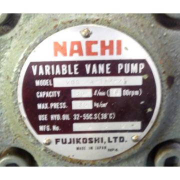 SHOWA VDRU-1A-40BHX 212 Hydraulic Power Unit NACHI VDR-1A-1A2-21 Pump OKUMA LB15
