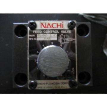 Origin NACHI TL-GO3-2-11 HYDRAULIC FEED CONTROL VALVE TL -G03 -2 -11
