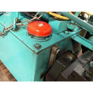 NACHI VDR-1B-1A3-B VARIABLE VANE HYDRAULIC amp; UNI PUMP  WITH TANK amp; OIL COOLER