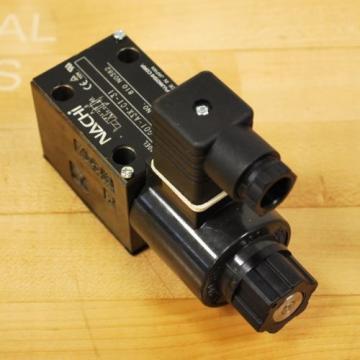Nachi SA-G01-A3X-C1-31 Hydraulic Directional Control Valve With B12GDM Solenoid