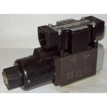 D03 4 Way 4/2 Hydraulic Solenoid Valve i/w Vickers DG4V-3-2B-WL-H 24 VDC