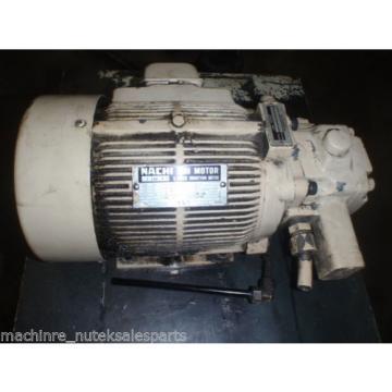 Nachi Variable Uni Pump with Motor VDR-1B-1A2-21_UVD-1A-A2-15-4-1849A_LTIS70-NR