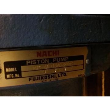 Nachi Piston Pump PVS-1B-16N1-2535A _ UPV-1A-16N1-15A-4-2535A_NICE