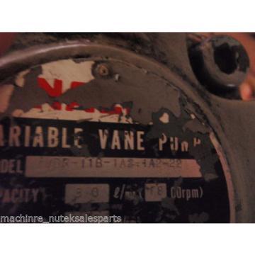 Nachi Variable Vane Pump VDR-11B-1A2-4A2-22_VDR11B1A24A222