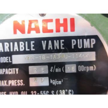 NACHI HYDRAULIC OIL UNI MOTOR PUMP 22KW 4P LTIS90-NR VDR-1B-1A3-U-1146K
