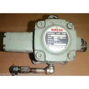 Nachi Variable Vane Pump VDR-1B-1A3-1146G _ VDR1B1A31146G _ 1800 RPM