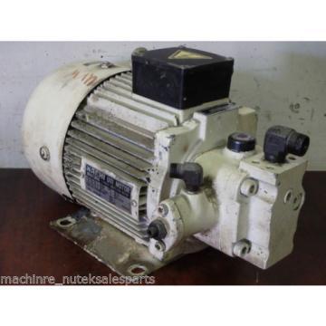 Nachi Uni Pump UVN-1A-1A3-22-4-10  _ UVN1A1A322410 _ Motor TWF4912BF _ VDN-1A3