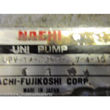 Nachi Fujikoshi Corp Piston Pump PVS-1B-22N2-U-11_ PVS1B22N2U11