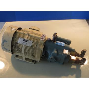MEIDENSHA MEIDEN MOTOR LTF70-NR NACHI PUMP UPV-1A-16N0-15-4-2477A V15AIR-95