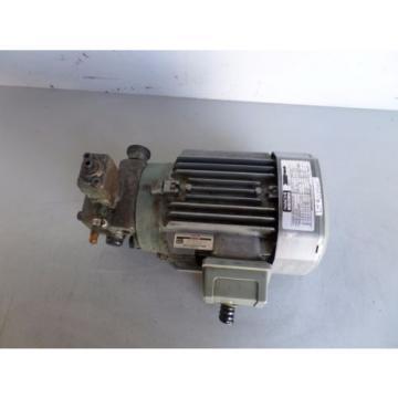 NACHI INDUCTION MOTOR LTIS-NR VBCA-0A4B07 PUMP VDS-0B-1A2-U-10 LOT# 2125M James