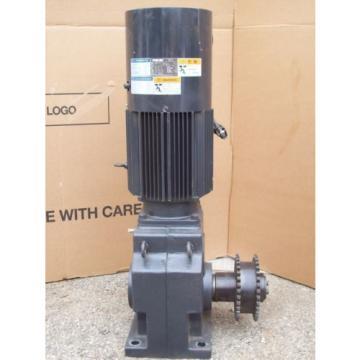 5 HP INDUCTION GEAR MOTOR RNHMS5-63L-V1-B-15  SUMITOMO HYPONIC DRIVE 37 KW
