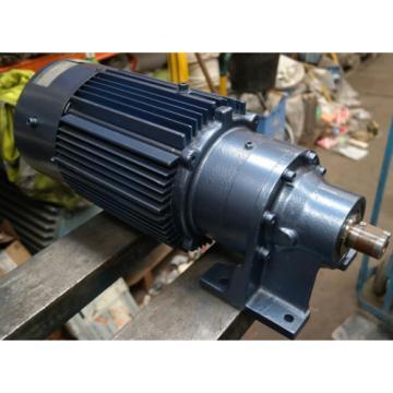 Sumitomo Cyclo 15kW Electric Motor Gearbox Straight Drive 95RPM Gear-motor