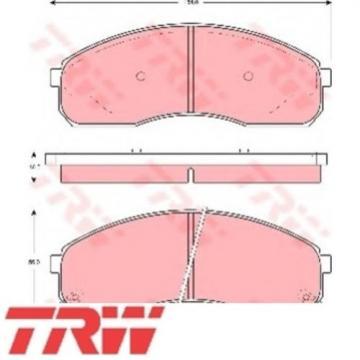 TRW Bremsbelagsatz Bremsbeläge Bremsklötze Vorn KIA 23649 GDB3261