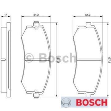 Bremsbelagsatz Bremsbeläge Bremsklötze BOSCH BP098 E190R-011075/790 0986424215