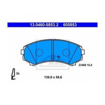 ATE 605853 Bremsbelagsatz, Scheibenbremse  130460-58532  Vorne
