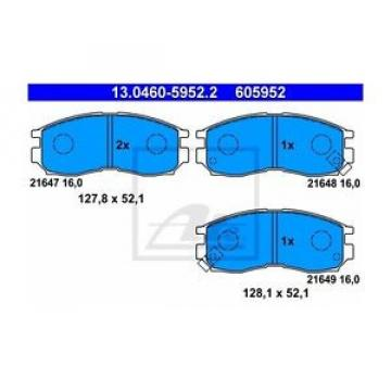 ATE 605952 Bremsbelagsatz, Scheibenbremse  130460-59522  Vorne
