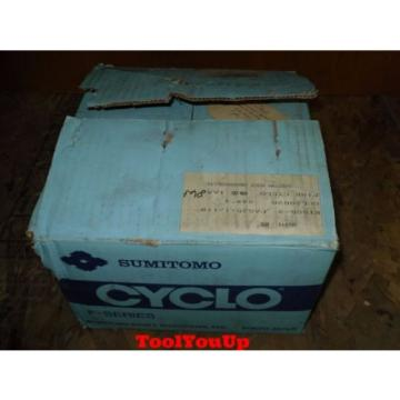 Origin IN BOX SUMITOMO F SERIES SPEED REDUCER HW8381295 B AXIS MACHINE SHOP TOOLING
