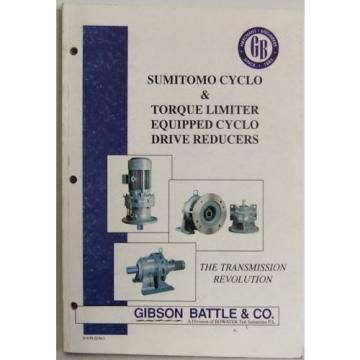 Transmission sumitomo cyclo motor drive reducers product manual spec