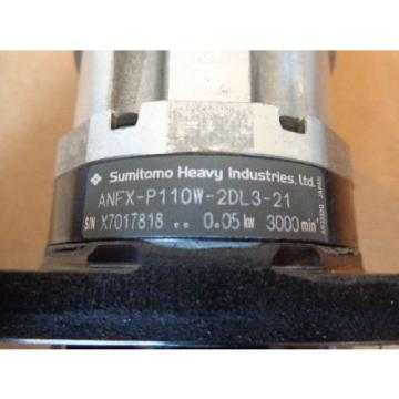 Sumitomo Heavy Indusrties ANFX-P110W-2DL3-21 Gearhead Reducer