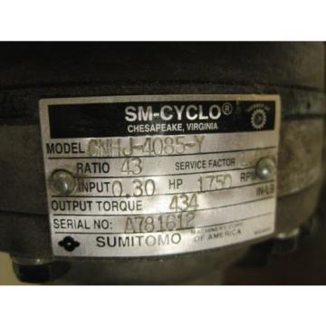 Origin SUMITOMO SM-CYLCO CNHJ-4085-Y REDUCER
