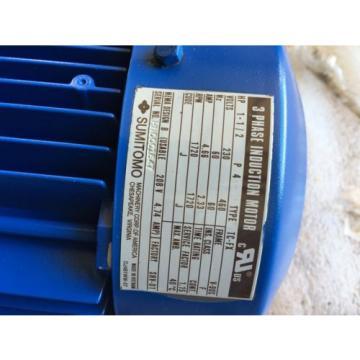 SUMITOMO SM-CYCLO 3 phase induction motor Origin IN BOX TYPE TC-FX