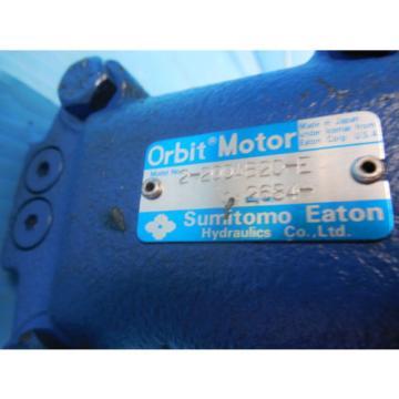 SUMITOMO 2 200AB2C E HYDRAULIC MOTOR INDUSTRIAL ORBIT MOTORS MADE IN JAPAN EATON
