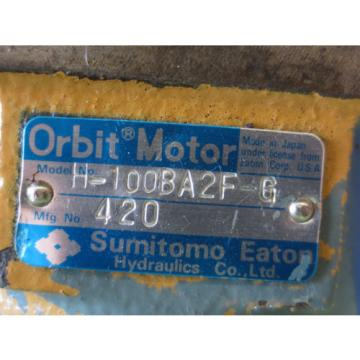 SUMITOMO EATON ORBIT MOTOR H-100BA2F-G