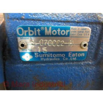Sumitomo Eaton S-070CC2-H S070CC2H Orbit Motor 115 - Used