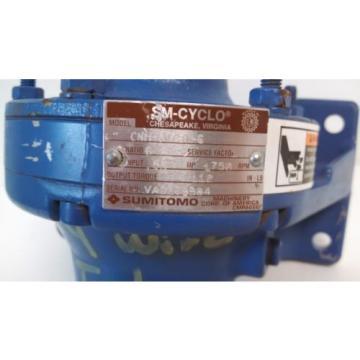 Origin OLD STOCK SM-CYCLO SUMITOMO 1750HP 55 INPUT MOTOR CNH-6075Y-6