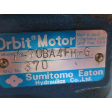SUMITOMO EATON ORBIT MOTOR H-70BA4FM-G