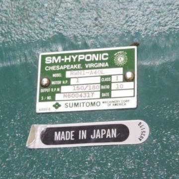 SM-CYCLO TC-F/FB-1B 3-PHASE INDUCTION MOTOR SUMITOMO SM-HYPONIC RMH1-A40L