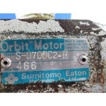 SUMITOMO ORBIT MOTOR S-070DC2-H