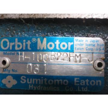 SUMITOMO EATON ORBIT MOTOR H-100B22FM-J LISTING FOR EACH