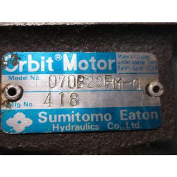 SUMITOMO EATON ORBIT MOTOR H-070BA2FM-G